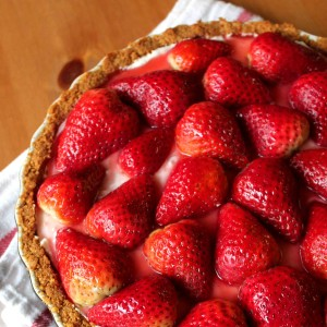 Strawberry Cream Pie 2